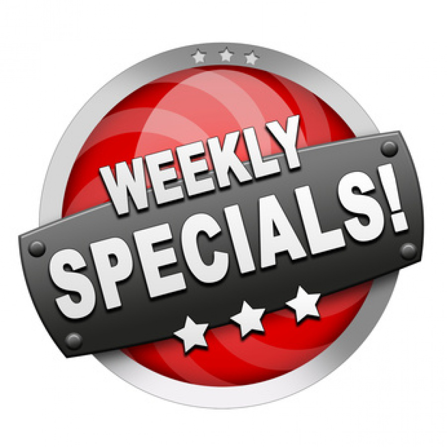 Check Our Weekly Specials